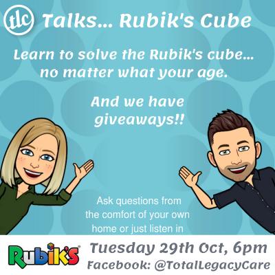 2019-10-22 - TLC Talks Rubik's